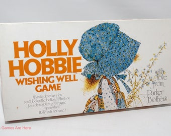 Holly Hobbie Wishing Well Game from Parker Brothers 1976 COMPLETE