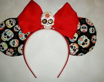 Day of the Dead Sugar Skull Mickey ears