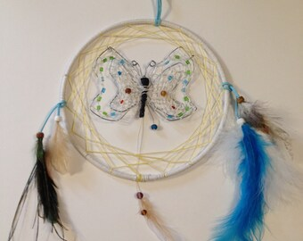Butterfly 3-D dream catcher