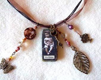 Reclaim Ragamuffin necklace, No. 68