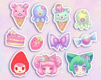 Octopie Stickers