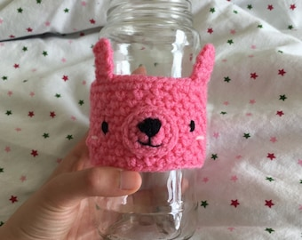 Bunny Cup Cozy - Cute Coffee Sleeve - Coffee Cup Cozy - Cute Gift Ideas
