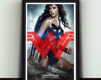 11x17 Wonder Woman Poster from Batman V Superman Dawn of Justice