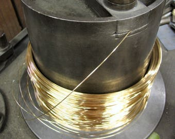 14K Gold Filled Round Wire 3 Feet 22 Gauge DS 4.00/ft with free shipping