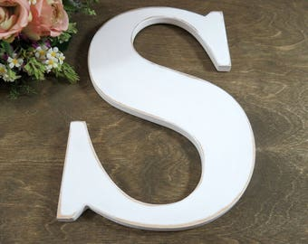 Distressed Letters - Baby Shower Gifts - Nursery Letters - Alphabet Letters - Wall Letter - Nursery Decor Letter - Gifts - Sign Letter