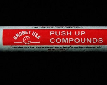Polishing Rouge In Push Up Tube Easy Clean Up Red