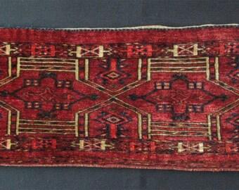 Turkmen Kejebe design Saryk torbha