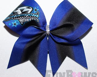 Awesome Budget Price - Custom Team Bow for only 10 Dollars  by FunBows !