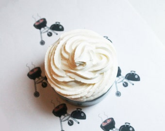 Barbeque Whipped Soap - Scented Soap - Homemade Soap - Vegan Soap - Glycerin Soap - Cream Soap - Easter Gift