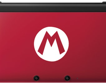 Mario Decal for Red 3DS XL