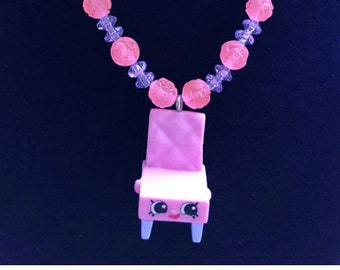 Shopkin Necklace - Shopkins Party Theme - Afforable gift for kids - Shopkins Necklace - Shopkins Accessories - Shopkins - Kids Jewelry