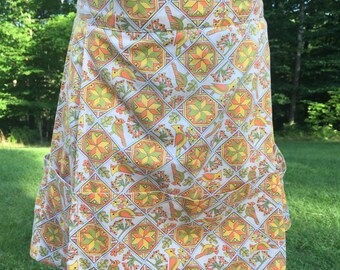 Vintage/Retro/1960s Apron with Large Pockets
