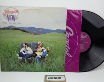 America View From the Ground Vintage Vinyl Record LP America Record Album Very Good +