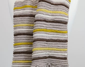 Knitted Lambswool Scarf
