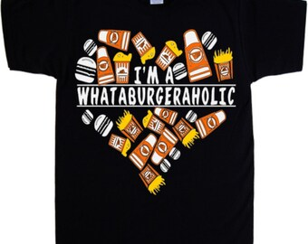 It's a Texas Thang, Whataholic Whataburger Men's, Boys Tee Shirt