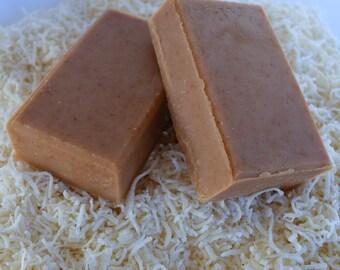 Pumpkin Coconut Cream Goats Milk Soap