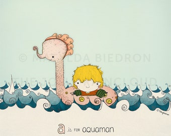 A is for Aquaman