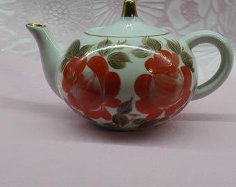 Ceramic teapot Tea kettle Beautiful teapot Small kettle Teapot Teapot with patterns