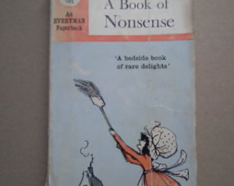A Book of Nonsense by Edward Lear 1967 edition