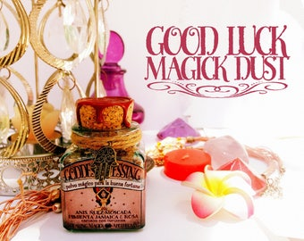 Good Luck Magick Incense *Goddess Blessing* with herbs, resins and crystals - Nutmeg, Anise, Rose, Allspice & Turquoise