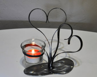 Candle holder, candlestick, candle holder wrought iron, candle holder, metal decoration
