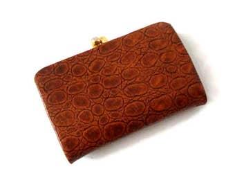 Vintage 1970s Leather Wallet