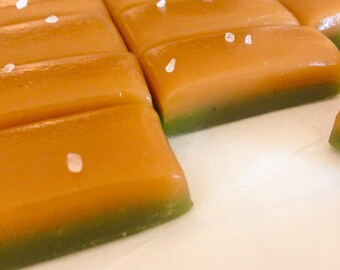 1 lb. Caramel Apple Caramels - Bulk bag - Small batch, hand wrapped, old fashioned caramel