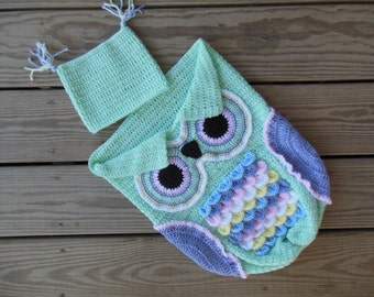 Owl Cocoon and Hat