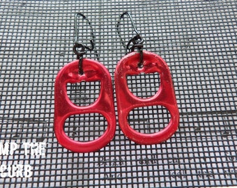 Colored Energy drink Tab Earrings - 3 colors available