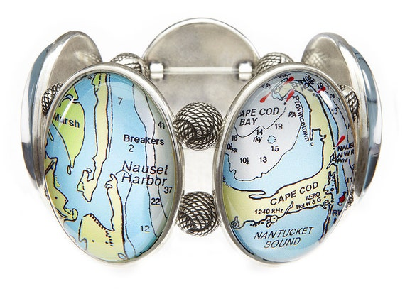 Cape Cod Five-Cameo Stretch Bracelet