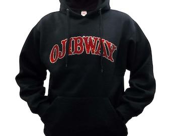 Ojibway Rhinestone Hoodie