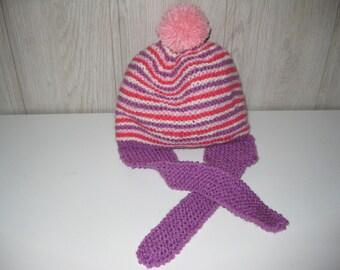 Peruvian child wool hat