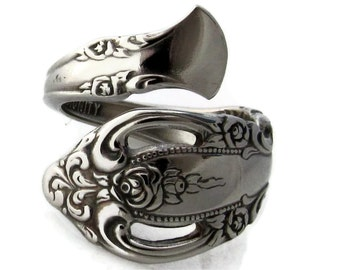 Wrapped Spoon Ring Brahms Choose your Size