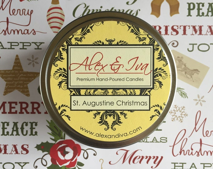 St. Augustine Christmas - 8 oz tin