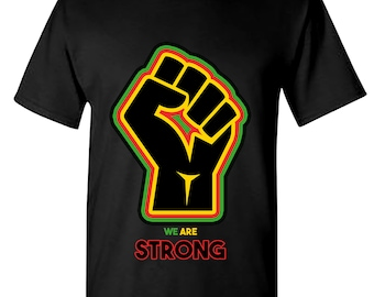 Fist * WE ARE STRONG Short Sleeve Tee