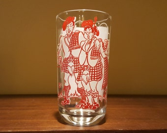 Auld Lang Syne Big Top Peanut Butter Song Glass Tumbler
