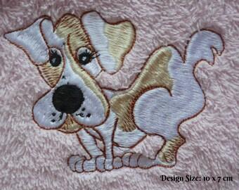 Tink Dog Design (228) - Embroidered Personalised Fleece Dog Blanket