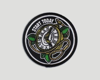 Start Today Iron On Patch