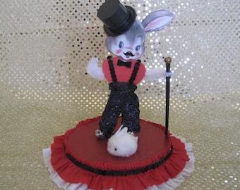 Dapper Easter Bunny / Magician paper Doll