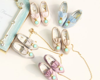 SK Couture Limited Edition- Rococo Vintage Shoes for Blythe, Pullip, Azone, Momoko, Licca, Jenny