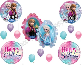 FROZEN ANNA ELSA girly  Birthday Balloons Decoration Supplies Party Let It Go