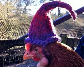 Chicken Hats!!!  Hilarious and adorable!!  Custom made, pick your own color and style!