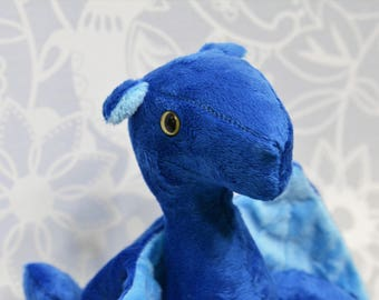 Topaz  Dragon Blue