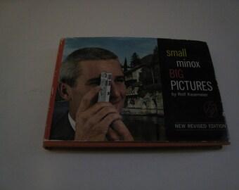 Minox Camera Book, Small Minox Big Pictures, Vintage Minox B Book, Minox Manual, Rolf Kasemeier, Spy Camera