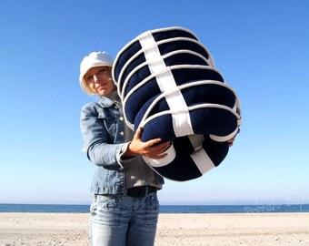 Lifebuoy Pillows SET of 4 Nautical Art! Nautical Classic Design! Spectacular gift for sailor!