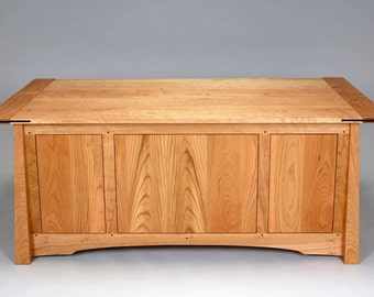 Asian Accented Blanket Chest