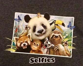 Zoo Selfie T-shirt