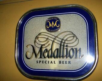 Beer Sign Lighted Medallion Brewing