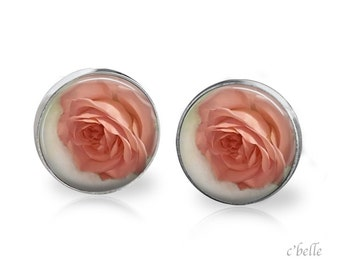 Ear studs of pastellener cherry blossom 5