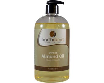 Sweet Almond Carrier Oil - 8 oz. or 16 oz. with pump